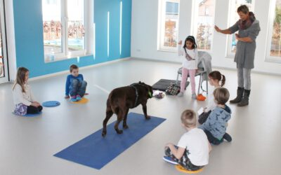 Training mit Vorschulkindern in der Kita Sonnenschein